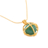 Kiki Minchin Women's The Roxy Cage Necklace - Jade Green/Gold: Image 3