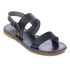 Hudson London Women's Maiara Leather Two Part Sandals - Navy: Image 2