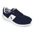 Polo Ralph Lauren Men's Cordell Runner Trainers - Newport Navy: Image 2
