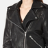 Gestuz Women's Heep Embroidered & Stud Leather Jacket - Black: Image 4
