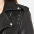 Gestuz Women's Heep Embroidered & Stud Leather Jacket - Black: Image 6