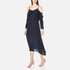 Gestuz Women's Jeannine Strap Silk Dress - Navy: Image 2