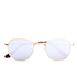 Ray-Ban Hexagonal Metal Frame Sunglasses - Gold/Wisteria Flash: Image 1