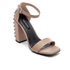 Senso Women's Leila Suede Barely There Heeled Sandals - Caramel: Image 2