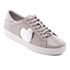 MICHAEL MICHAEL KORS Women's Keaton Heart Leather Trainers - Cement: Image 2