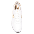 MICHAEL MICHAEL KORS Women's Allie Plate Wrap Leather Trainers - Optic White: Image 3