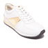 MICHAEL MICHAEL KORS Women's Allie Plate Wrap Leather Trainers - Optic White: Image 2