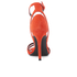 Kendall + Kylie Women's Goldie Suede Heeled Sandals - Bright Coral/Clear: Image 3
