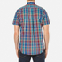 GANT Men's Small Check Short Sleeve Shirt - Persian Blue: Image 3