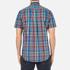 GANT Men's Small Check Short Sleeve Shirt - Persian Blue: Image 3