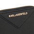 Karl Lagerfeld Women's K/Klassik Small Zip Wallet - Black: Image 5