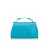The Cambridge Satchel Company Women's Mini Poppy Bag - Neon Blue Saffiano: Image 4