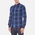 Superdry Men's Washbasket Long Sleeve Button Down Shirt - Tylers Check Navy: Image 2