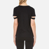 Helmut Lang Women's V-Neck Slash T-Shirt - Black: Image 3