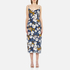 MINKPINK Women's Pacifico Midi Slip Dress - Multi: Image 1