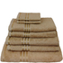 Restmor 100% Egyptian Cotton 7 Piece Supreme Towel Bale Set (500gsm) - Multiple Colours Available: Image 4