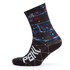 PBK Race High Cuff Socks - Ocean Blue