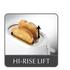 Kenwood TTP210 True 4 Slot Toaster - White: Image 3