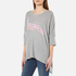 Wildfox Women's Breakfast Crew T-Shirt - Heather Grey: Image 2