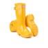 Hunter Kids' Original Gloss Wellies - Sunlight: Image 5