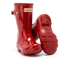 Hunter Toddlers' Original Gloss Wellies - Military Red: Image 5