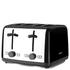 Kenwood TTM480BK Scene 4 Slice Toaster - Black: Image 1
