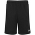 adidas Men's Essential 3 Stripe Fleece Jog Shorts - Black: Image 1
