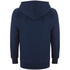 adidas Men's Essential 3 Stripe Fleece Hoody - Navy: Image 2