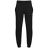 adidas Men's Essential Logo Cuffed Fleece Sweatpants - Black: Image 1