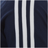 adidas Men's Essential 3 Stripe T-Shirt - Navy: Image 3