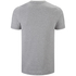 adidas Men's Essential 3 Stripe T-Shirt - Grey Marl: Image 2