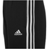 adidas Men's Essential 3 Stripe Fleece Sweatpants - Black: Image 3