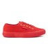 Superga Women's 2750 Cotu Classic Trainers - Red/Gold: Image 1