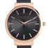 Olivia Burton Women's Hackney Black Mesh Watch - Rose Gold: Image 3