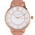Olivia Burton Women's Wonderland Dusty Pink Mix Watch - Rose Gold/Pink: Image 3