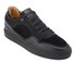Android Homme Men's Omega Quilted Velvet Low Top Trainers - Black: Image 2