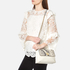 Ted Baker Women's Misti Circle Lock Exotic Trim Cross Body Bag - Ivory: Image 2
