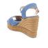 Castaner Women's Blaudell Wedged Espadrille Sandals - Jeans: Image 4