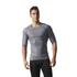 adidas Men's TechFit Climachill T-Shirt - Core Heather: Image 3