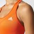 adidas Women's TechFit Medium Support Sports Bra - Energy Red: Image 8