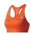 adidas Women's TechFit Medium Support Sports Bra - Energy Red: Image 1