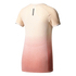 adidas Women's Primeknit Wool Dip-Dye Running T-Shirt - Easy Coral: Image 2
