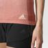 adidas Women's Primeknit Wool Dip-Dye Running T-Shirt - Easy Coral: Image 7