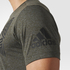 adidas Men's Freelift Tric T-Shirt - Utility Grey: Image 6