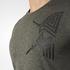 adidas Men's Freelift Tric T-Shirt - Utility Grey: Image 7