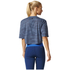 adidas Women's Aeroknit Boxy Crop Top - Blue: Image 5