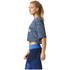 adidas Women's Aeroknit Boxy Crop Top - Blue: Image 4