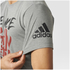 adidas Men's Freelift Nasty T-Shirt - Core Heather: Image 7