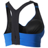 adidas Women's Climachill High Support Sports Bra - Blue: Image 2