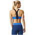 adidas Women's Climachill High Support Sports Bra - Blue: Image 5